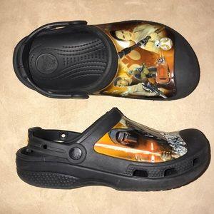 Boys Star Wars Crocs clogs